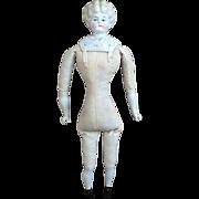 "German ""Helen"" China Shoulder Head Doll"