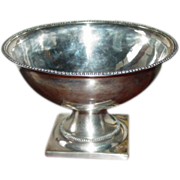 Philadelphia  Coin Silver Waste Bowl - Joseph Anthony 18th Century