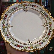 SALE Set of 4 Limoges with Floral and Gold Trim
