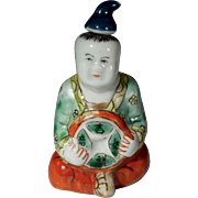 Chinese Porcelain Figural Snuff Bottle