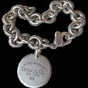 Vintage Return to Tiffany & Co. Sterling Silver Charm Bracelet & Earrings Set