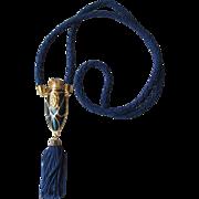 Vintage Avon Mesmerize Perfume Pendant Necklace