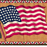 SALE c1910  USA 48-Star American National Flag  (1912-1959)  - Vintage Tobacco Advertising Pre