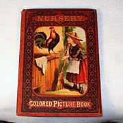 SOLD 1870's Victorian Children's Nursery Colored Picture Book – RARE Early Mc Loughlin Broth