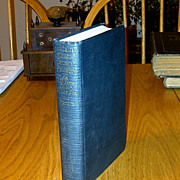"SALE 1922 New England Sea Captain Biography First Edition -  Stonington, Connecticut ""Cap"