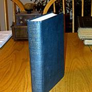 "SALE 1922 New England Sea Captain Biography First Edition -  Stonington, Connecticut ""Cap"