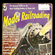 SALE 1950 Lionel Train Model Railroading Book - Illustrated First Edition Manual - Official ..