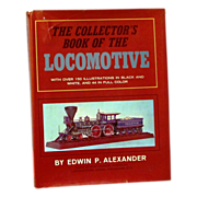 SALE Railroad Train Locomotive Engine Vintage Photo Picture Book - The Collector's Book of .