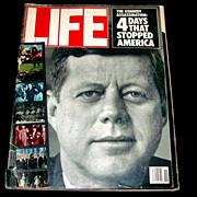 SALE PENDING John F. Kennedy Assassination 20th Anniversary Life Magazine Retrospective  Issue
