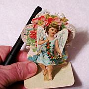 SALE PENDING Raphael Tuck Victorian Valentine c1900 Vintage Greeting Card - 3-D Die-cut Lithog