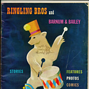 SALE 1949 Ringling Brothers and Barnum & Bailey Circus Program, Photographs and Articles - ...