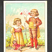 SALE 1880s J. C. Davis' Old Soap Victorian Advertising Trade Card – J.C. Davis ...