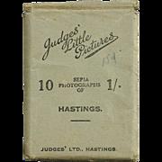 "SALE 1940s Hastings, England Souvenir Real Photos - ""Judges' Little Pictures"" World"