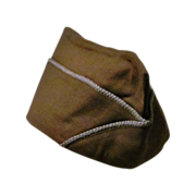 SALE World War Two II-2 U. S. Army Infantry Uniform Cap - 1943-1945 Overseas Garrison Side Cap