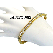 Swarovski Crystal Company Bangle Bracelet