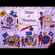 Patriotic Tea Towel For July 4
