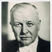 SOLD Franz Lehar Autograph: Signed Photo. CoA