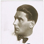 SOLD Julius Patzak Autograph CoA