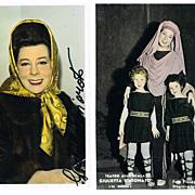 Giulietta Simionato Autograph and Photo