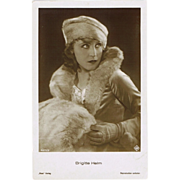 Brigitte Helm Photo Postcard.