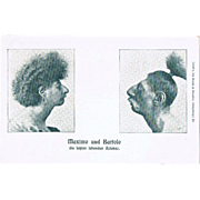 The last Aztecs Maximo and Bartolo Postcard-size