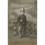 Antique Studio Photo with Buy in Prussian Uniform