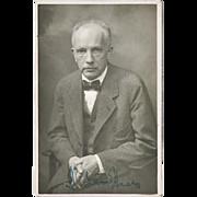 SOLD Richard Strauss Autograph, CoA