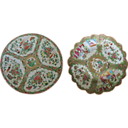 Chinese Plates  Canton Ware 19. Ct