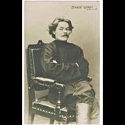 Maxim Gorky: Vintage Photo. appr. 1910