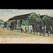 Chinese Wedding: Chinese Vintage Postcard sent to Manila, 1907