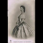 Empress Elisabeth from Austria known as Sisi Vintage Postcard