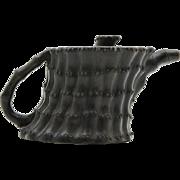 Old Chinese Yi Xing Teapot in Unusual Shape.
