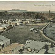 Aden. Vintage Postcard. The crescent Steamer Point