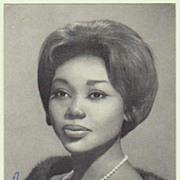 Felicia Weathers Autograph. Signed Decca Postcard. CoA