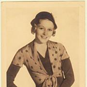 SOLD Lien Deyers: Autograph on Photo Postcard. Sad Story.