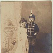 Lilliputian: Vintage Photo of a Midget Couple
