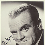 SOLD James Cagney Autograph. Hand signed Photo. CoA