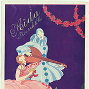 Vintage Advertising for Aida Bakeries . Art Deco Design. Ca.1920
