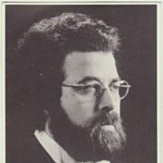 Conductor Giuseppe Sinopoli Autograph. Hand Signed Portrait Photo. CoA