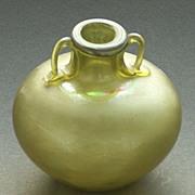 Art Nouveau, Authentic Object, Iridescent Vase.