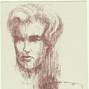 Ingrid Bjoner Autograph: Hand-signed Print. CoA