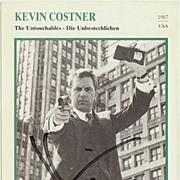 Kevin Costner Autograph. 5 x 7. COA