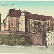 Old Poland, Krakow. 2 vintage Postcards.