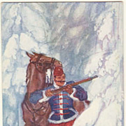 WWI, Vintage Postcard, designed by Josef Diveky