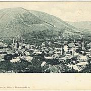 Mostar Herzegovina. Vintage Postcard 1901