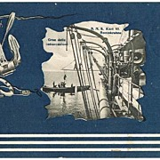S.M.S: Erzherzog Karl Postcard. Decorative