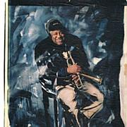 Dizzy Gillespie Autograph. Hand-signed larger Print. CoA