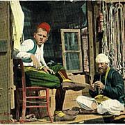 Vintage Postcard from Sarajevo app. 1915