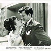 SOLD Ava Gardner Autograph on Movie Still, 10 x 8. CoA
