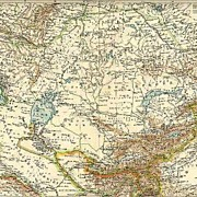 Russia, Central Asia and Turkistan. Map from 1903